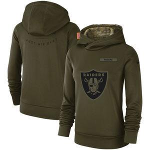 Nike Oakland Raiders Salute to Service Hoodie Med